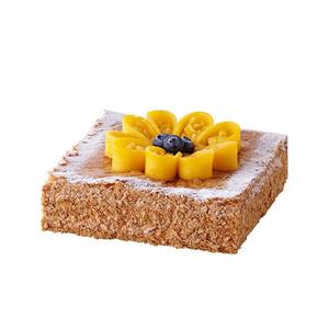 芒果千层拿破仑创意蛋糕